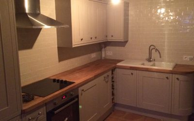Standard basic kitchen installation